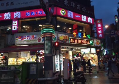 Ximen night market