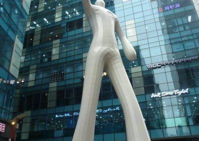 Gangnam statue