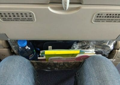 Seat pitch on A330 Eva Air Economy Class