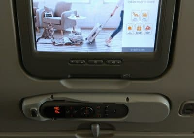 Eva Air A330 Entertainment System