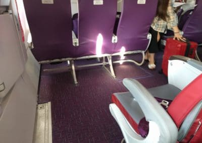 Exit row legroom on HK Express