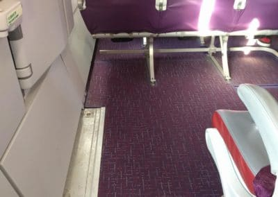 Legroom at seat 12A on HK Express