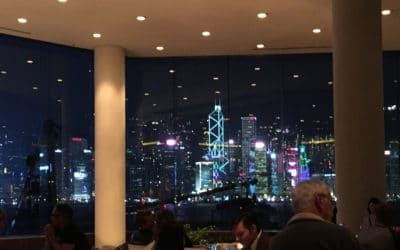 Intercontinental Hong Kong Lobby Lounge