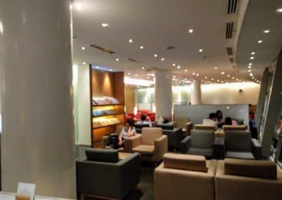 Cathay Pacific KIA Satellite Lounge