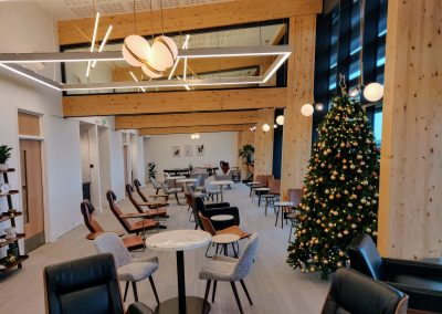 Premiair Lounge at Christmas